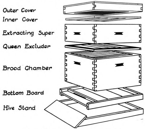 chapter iii beekeeping equipment. Black Bedroom Furniture Sets. Home Design Ideas