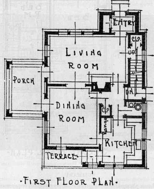 A basement of conveniences for Poured concrete homes plans