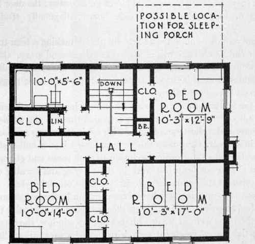 thatched roof house floor plans - Second Floor Floor Plans
