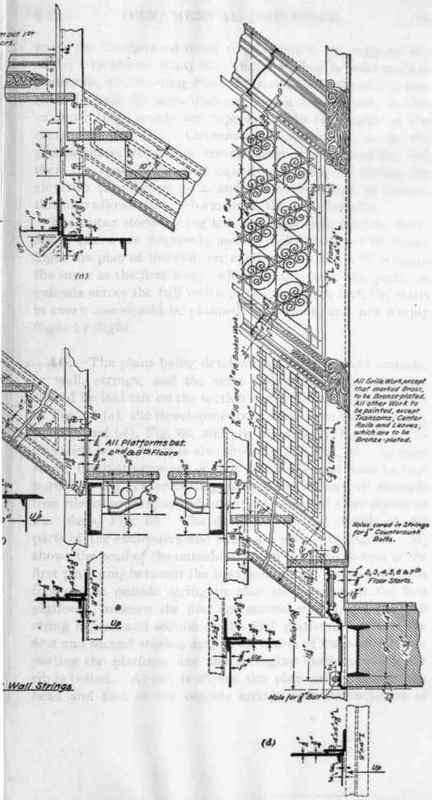 Combined elevator and stair shafts for 1 story elevator