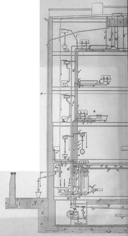 Plan No 5 Water Supply Double Boiler System