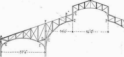 Fig 111 Cantilever Truss Mining Building Chicago 1893 43 cantilever trusses