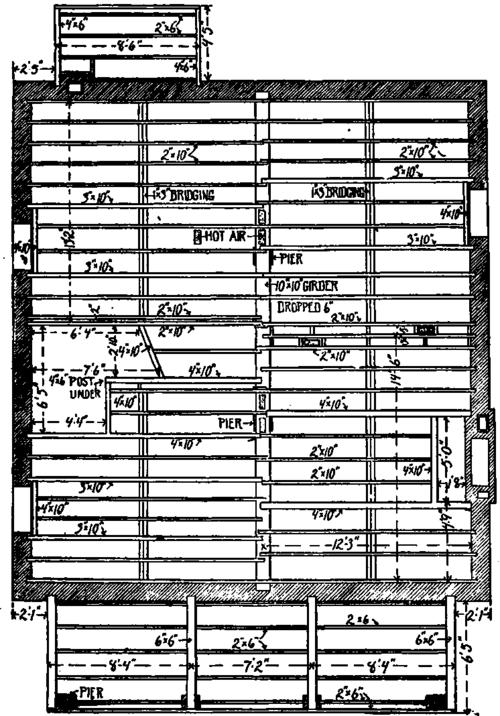 floor framing plan details images