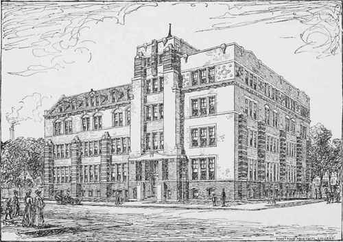 building for american school