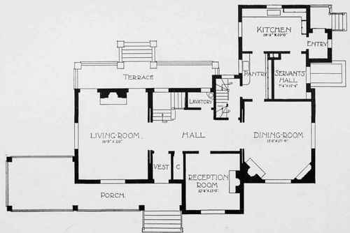 Chimneys for House plan companies
