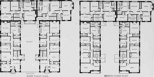 Apartment Building Architectural Plans - Interior Design