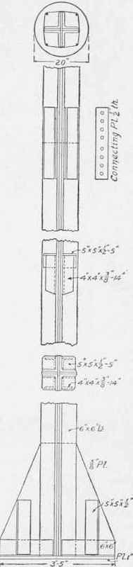 Steel Column Core For Buck Building Philadelphia Pa