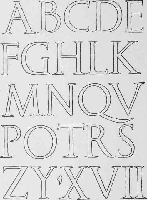 Very popular images: of the Roman alphabet