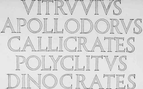 lettering from harvard architectural building mckim mead white