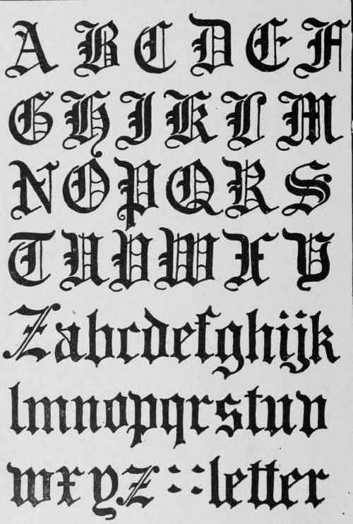 Letterhead Fonts  Lhf New English  Old English Style Fonts