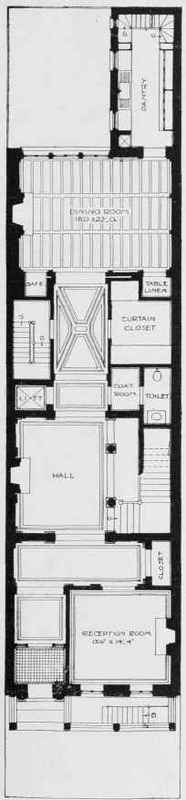 House plans city lot house design plans for City lot house plans