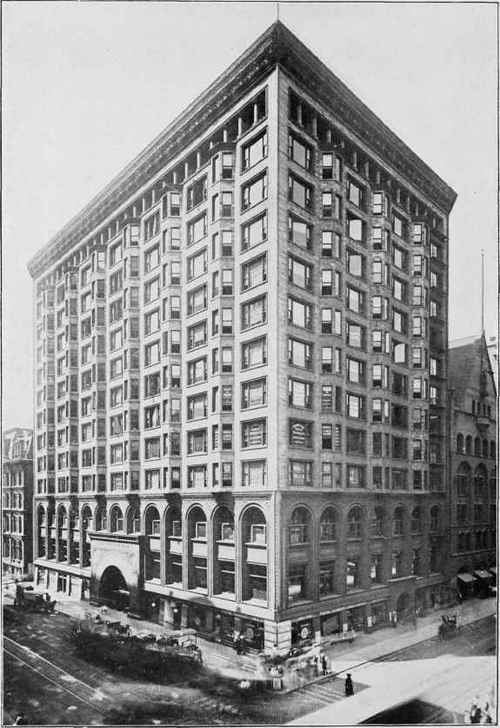 STOCK EXCHANGE BUILDING, CHICAGO, ILL. Louis H. Sullivan, Architect, Chicago