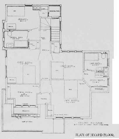 A 0800207 DESIGN FOR A $3,500 HOUSE N. Max Dunning, Architect, Chicago, 111.