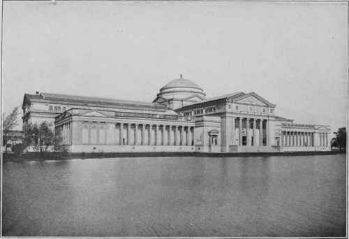 FINE ARTS BUILDING OF THE COLUMBIAN EXPOSITION OF 1893, NOW THE FIELD COLUMBIAN MUSEUM, JACKSON PARK, CHICAGO, ILL.