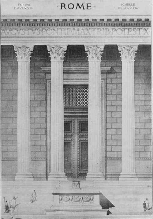 Corinthian Order Drawing Fig 129