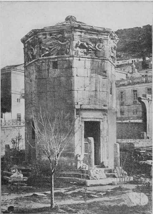 Fig. 73. Tower of the Winds, Athens.
