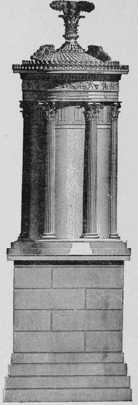 Fig.75. Choragic Monument of Lyslcrates, Athens, Restored,
