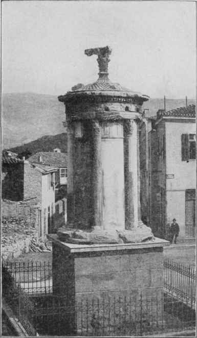 Fig. 76. Choragic Monument of Lysicrates.