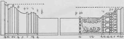 Fig. 93. Greek Ionic Pilasters.