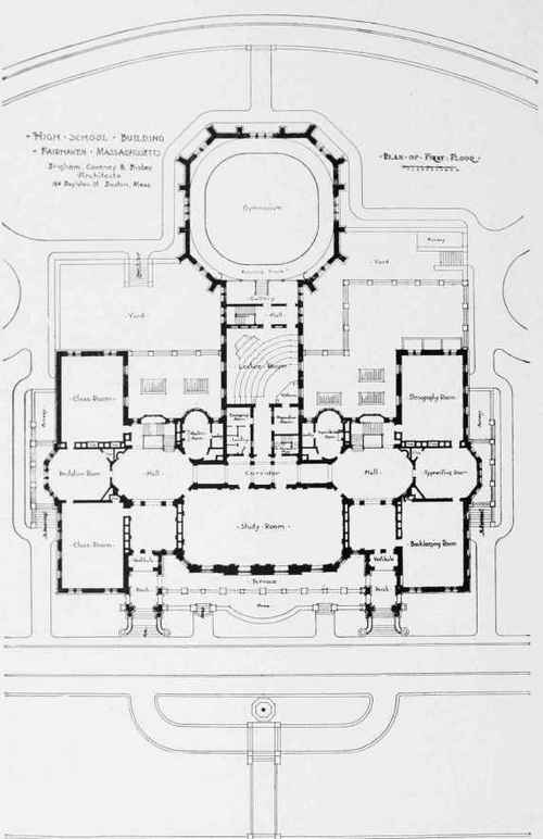 Image Gallery high school building plans