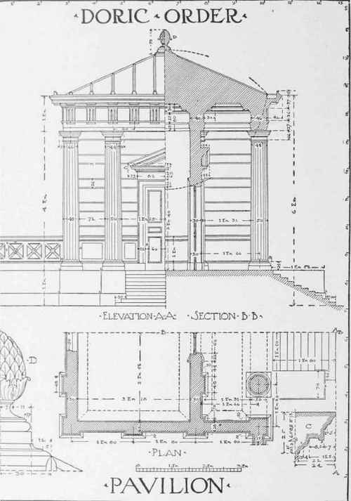 What Is A Front Elevation Drawing : Perspective drawing examination plates part