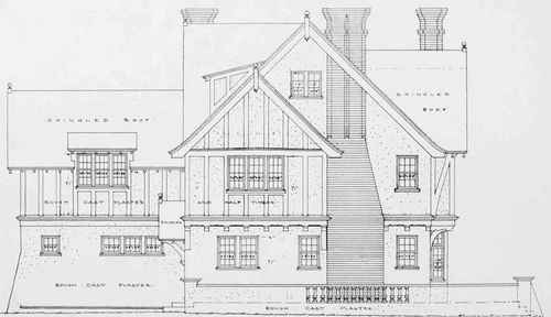 Elevation Plan And Side Views : Method of perspective plan part