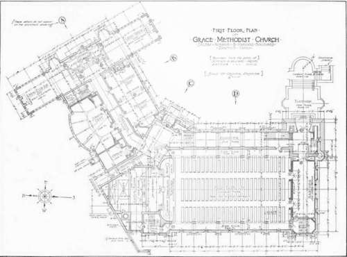 Contour map or site plan for Architectural site plan drawing