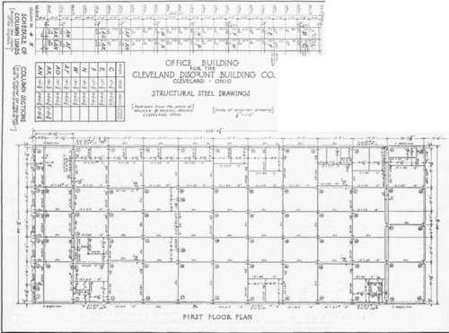 metal building floor plan column grid trend home design
