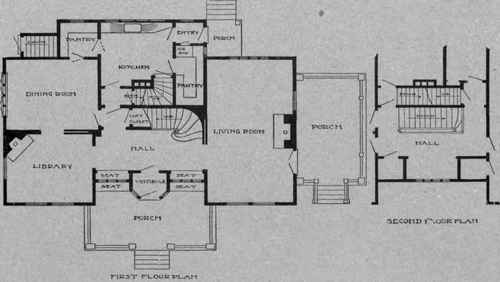 Center hall colonial home plans house plans Center hall colonial floor plans