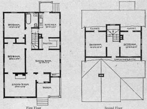 Bungalow House Plans, Modern Home Plans – Donald A. Gardner