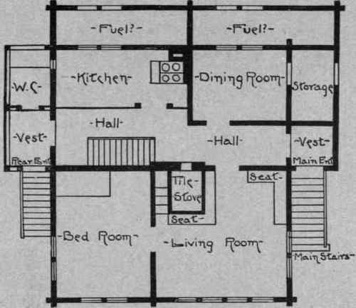 The evolution of the house part 4 - Swiss style house plans ...