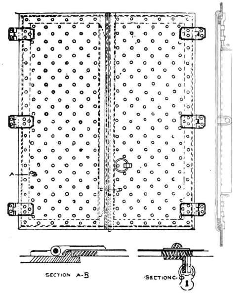 152 Sidewalk Door images/ArchitecturalIronAndSteel01 55  sc 1 st  Chest of Books & Chapter XII. Doors And Shutters
