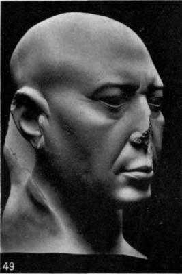 49. Basalt head
