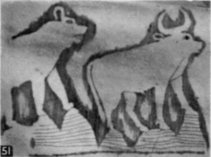 51. Hyaena and bull