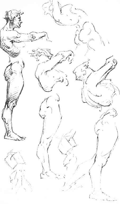 Hand Movements Drawing Masses And Movements of The