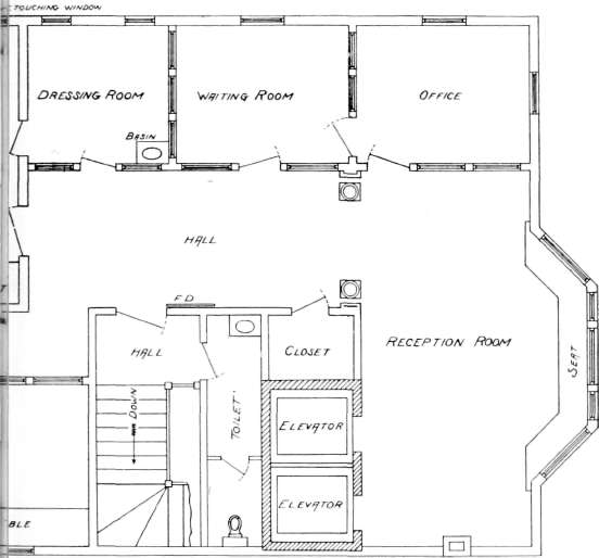 The eastman studio for Photography studio floor plans