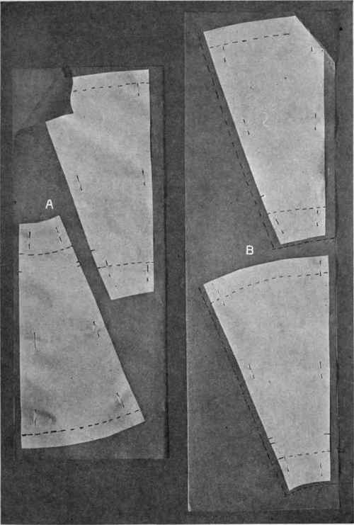 Las' and Girl's Custom-Drafted Skirt in 3, 5 and 7 Gores, 1912