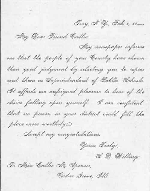 form of letter congratulating a friend upon election to office