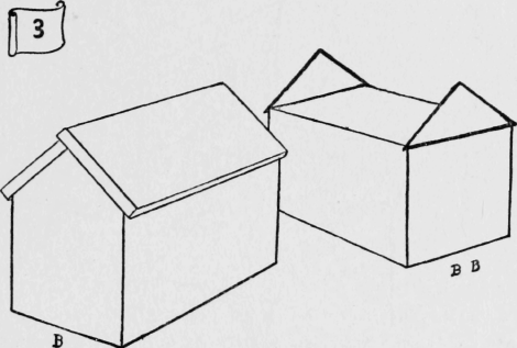Diagram three for Box gable roof