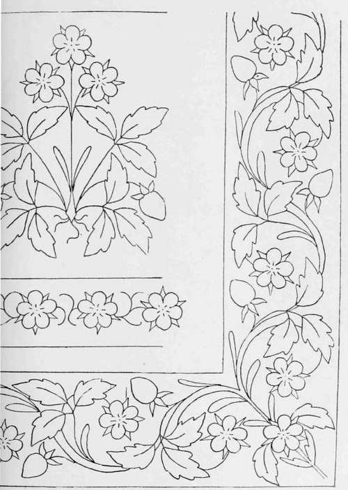 designs for borders. Embroidery Designs for Borders