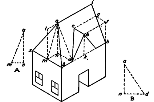 Isometric House Drawings Isometric Outline of a House