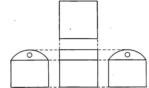 Elevation End Elevation Plan : Part iii projections orthographic projection continued