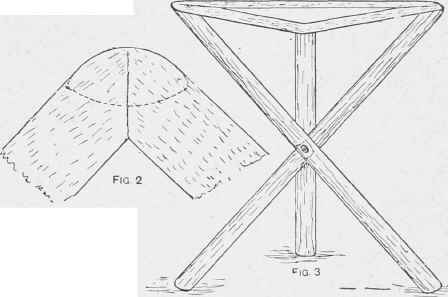 How To Make Three Legged Folding Fishing Stool