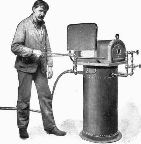 387 Rivet Heating Furnace