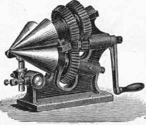 metal cone rolling machine
