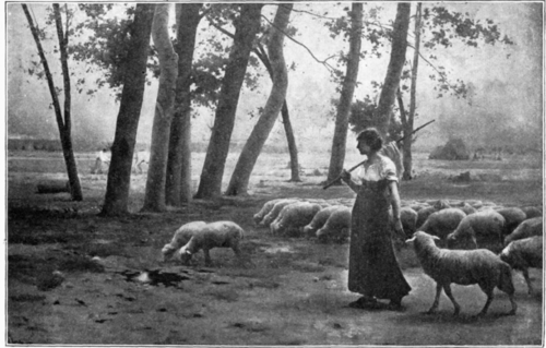 The Shepherdess.