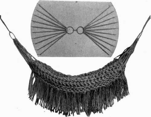 25 DIY Crochet Hammock Free Patterns | 387x500
