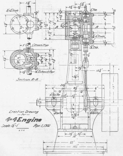 Mechanical Drawing. VII. The Assembly