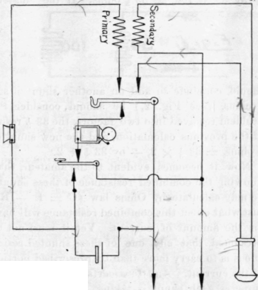 telephone circuits and wiring ii lines with magneto generator rh chestofbooks com Basic Ignition System Diagram Vertex Magneto Wiring-Diagram