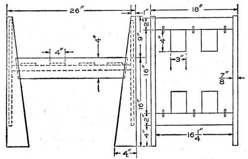 Foyer Bench Popular Mechanics : A hall bench